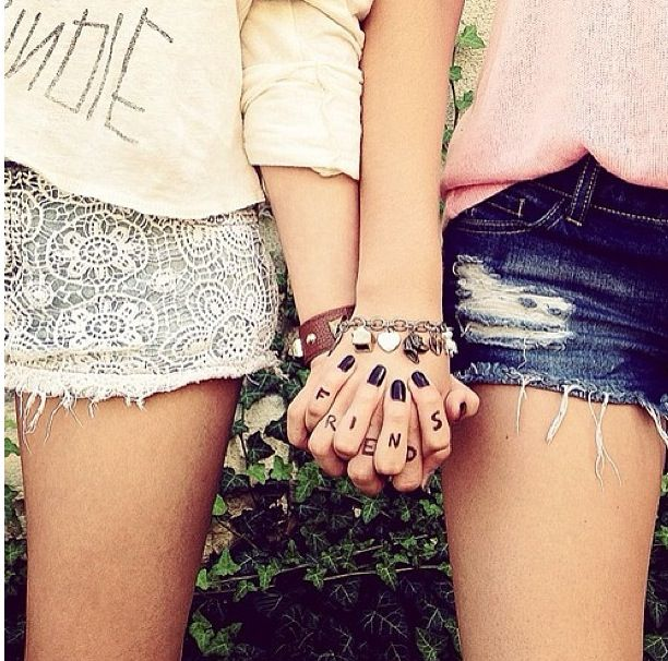 "I want to do this with my ""sister"" (:"