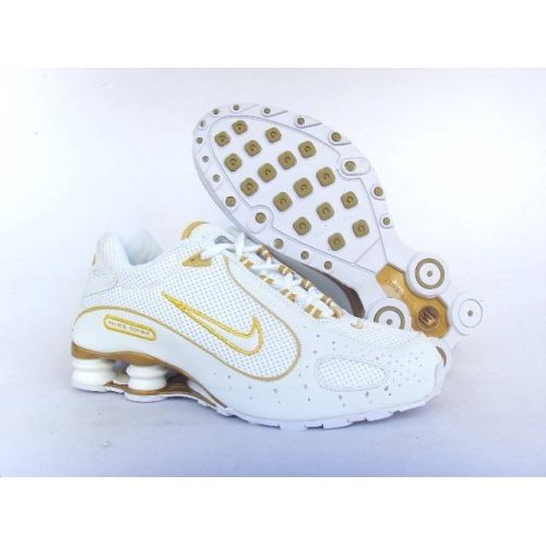 the best attitude e334b 5bac5 ... Nike Shox Monster White Gold Men Shoes 79.59 ...