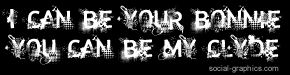 bonnie and Clyde quotes | Just click an image from the Lyric Graphic Quotes category to go to ...