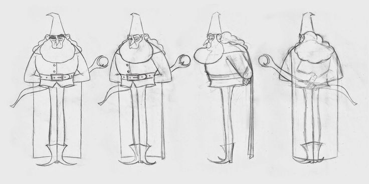The Duel character concepts
