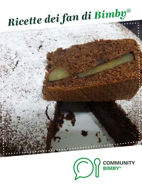 TORTA SOFFICE PERA E CIOCCOLATO è un ricetta creata dall'utente giadarita. Questa ricetta Bimby® potrebbe quindi non essere stata testata, la troverai nella categoria Dessert e pralineria su www.ricettario-bimby.it, la Community Bimby®.