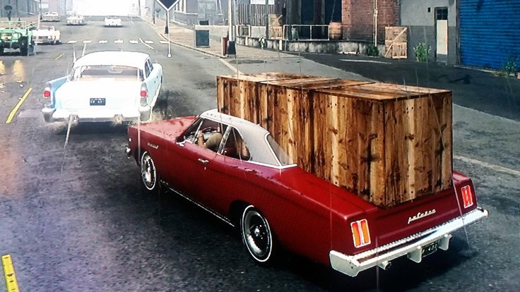 So....I was told to pick up a truck of cargo. Mafia 3