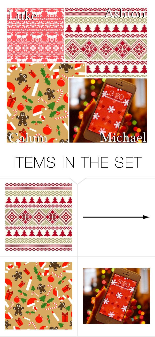"""Your Christmas Phone Wallpaper!"" by x5sosxpreferencesx ❤ liked on Polyvore featuring art"