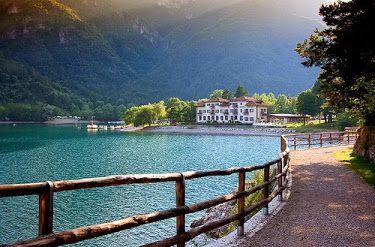 Lago di Ledro, Italy
