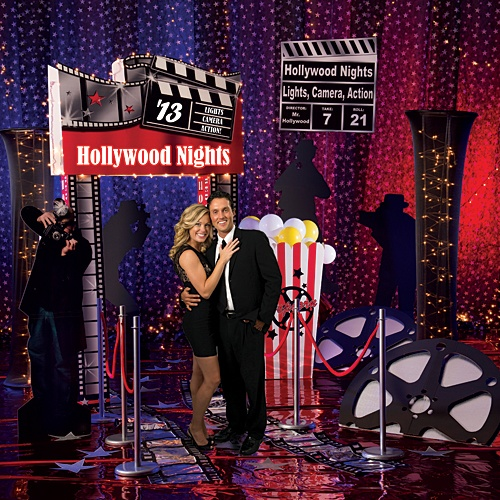 Our exclusive Set the Stage Hollywood Party will transform any venue into a red carpet clad Hollywood event. Choose from three sizes!