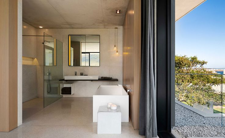Cape Town-based architecture practice Saota has used its local knowledge to build a hoilday home that resists extreme weather conditions while taking advantage of the sunlight and the sunsets at Pringle Bay. Nestled in a rocky landscape at the foot of ...