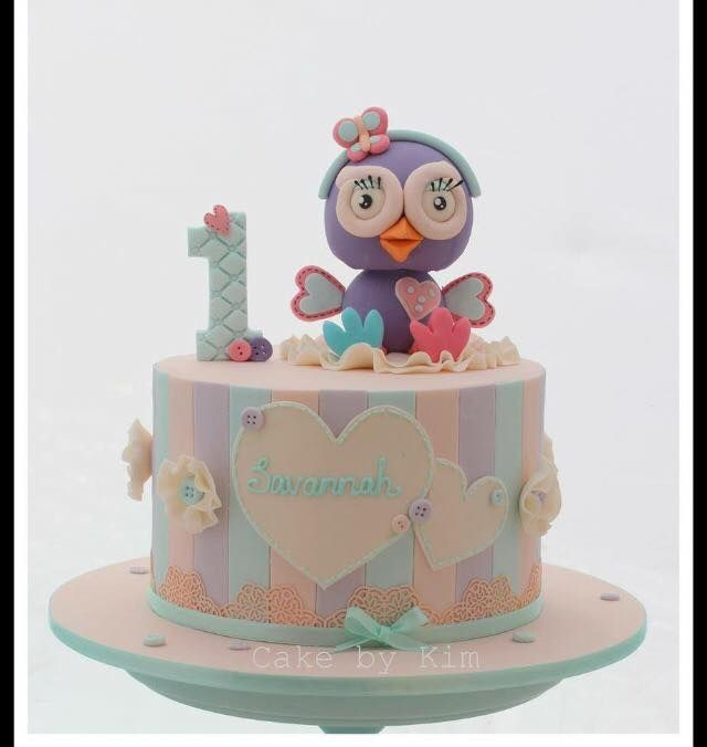 Hootabelle cake - JK Cake Designs (Sydney)