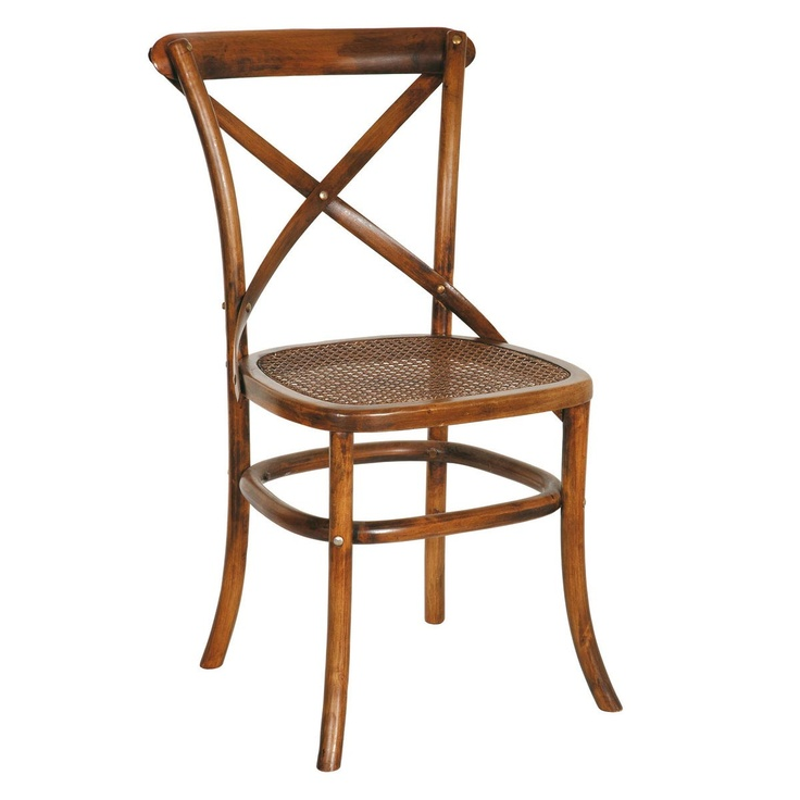 camargue wooden dining chair birch