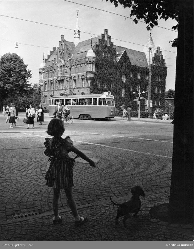 Malmö på 1950 talet.