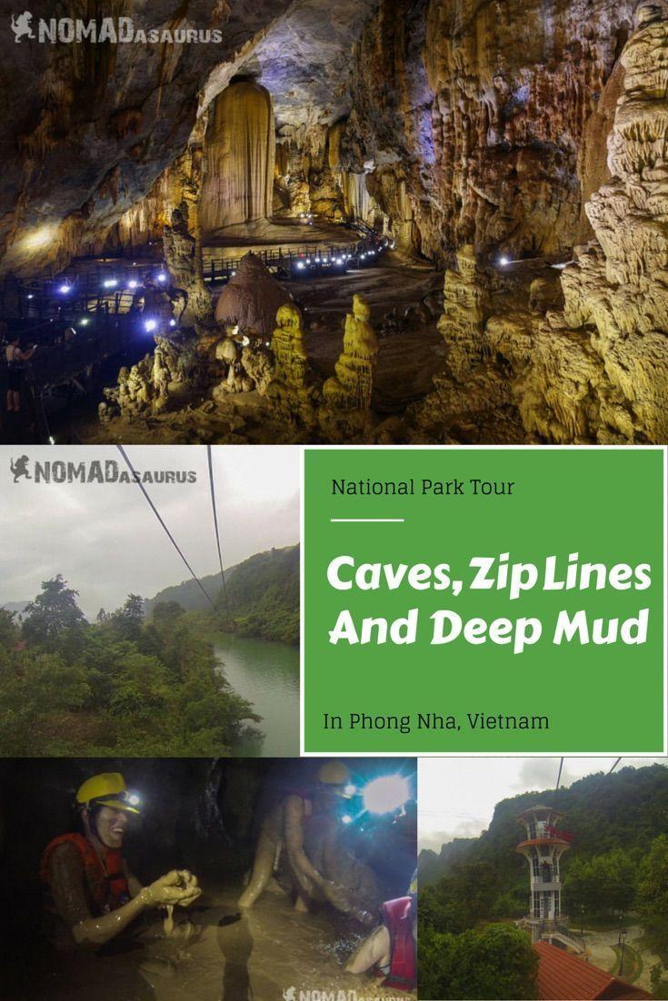 Caves zip lines and deep mud in phong nha