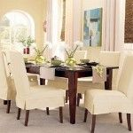 : Dining Chairs Slipcovers With New Design Model