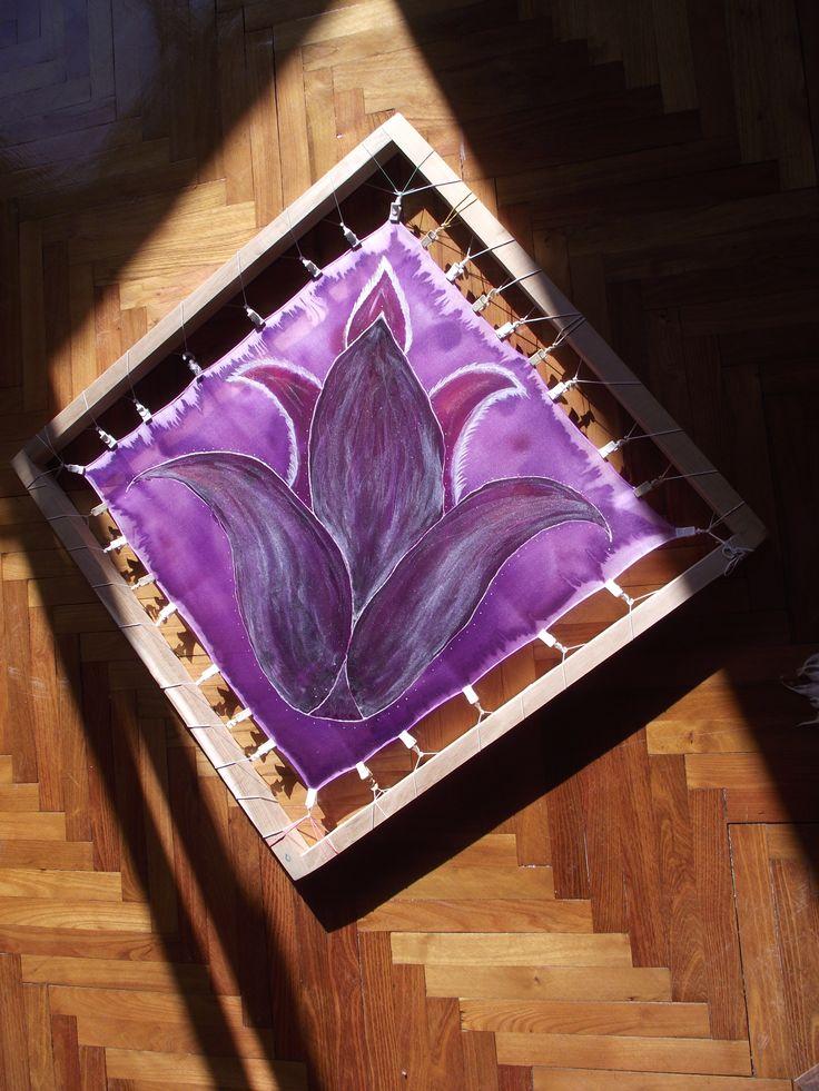 ibolyaláng - tulipán