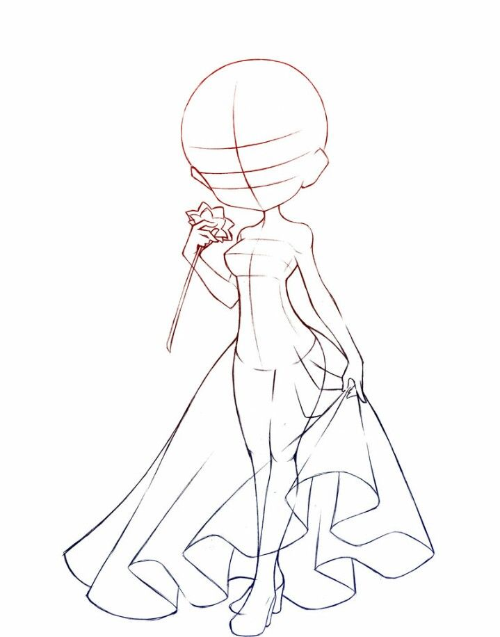 Chibi body gonna DRA for my cousin ly x | Reference ...
