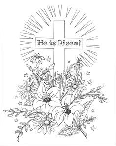 free printable scripturebased coloring pages from wwwflandersfamily in 2020  easter