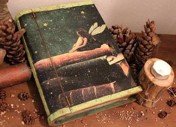 Fairy's Stardust, Fairy Tale,  Fairies Magic, Book Box, Make Believer, Stardust, Good fairy, Forest Fairy, Wishes, Once Upon A Time, For Her