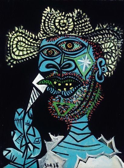 Pablo Picasso - Self Portrait, 1938