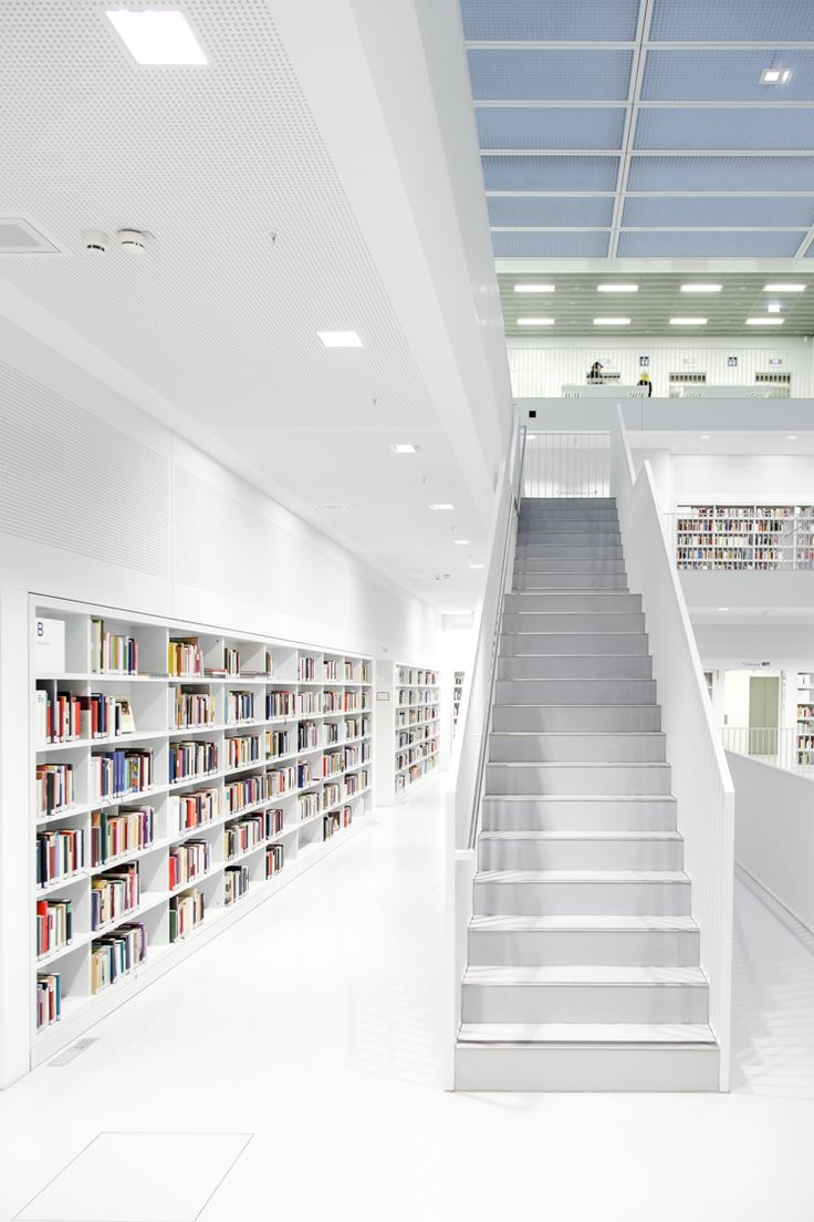 Library Stuttgart by usrdck.