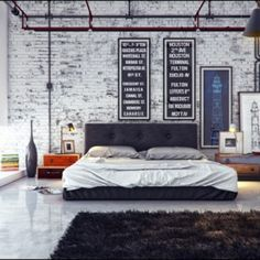 VINTAGE INDUSTRIAL BEDROOMS - Google Search