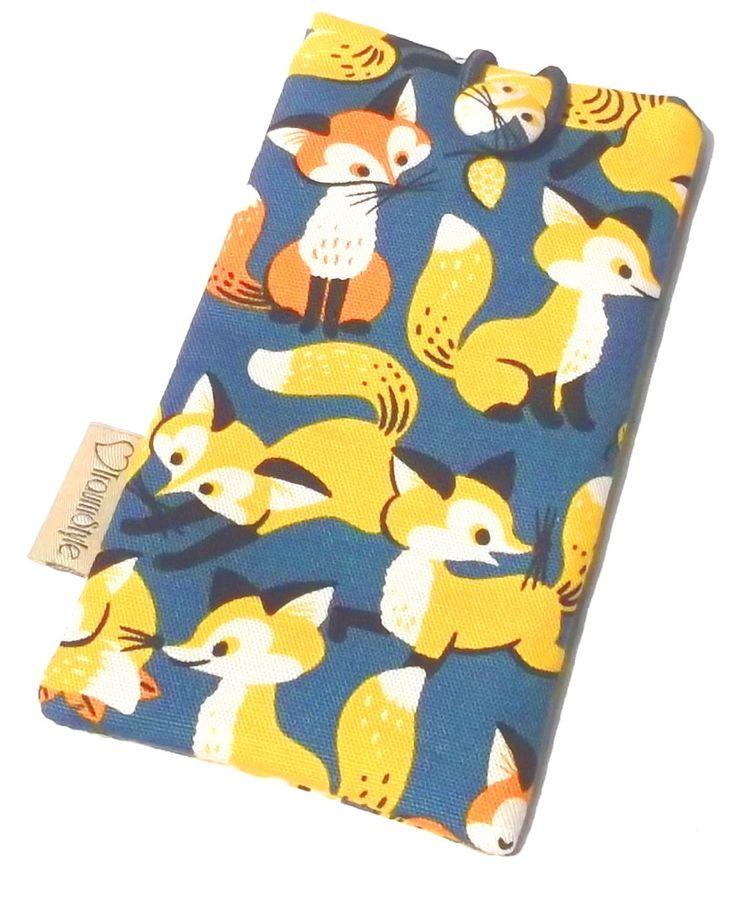 Handytasche Handy Schutzhülle Smartphonetasche Fox