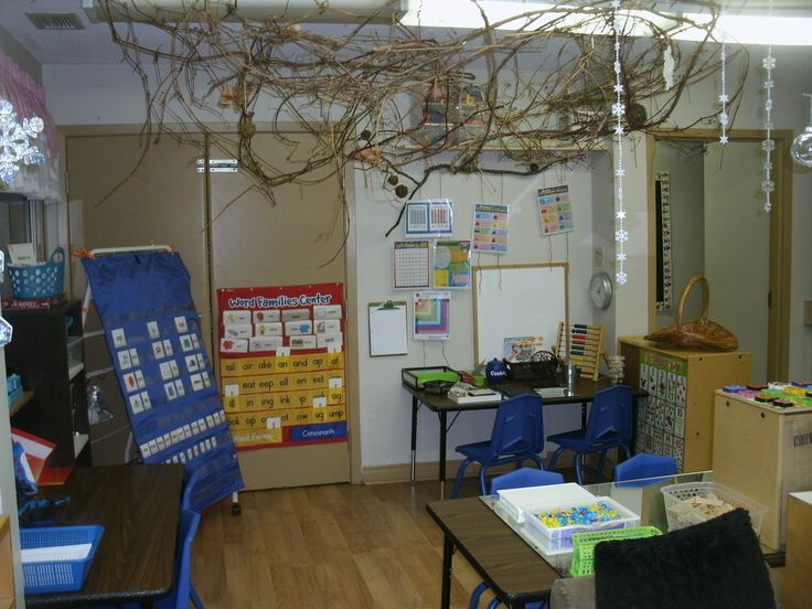Overview of Literacy, Math and Manipulative areas