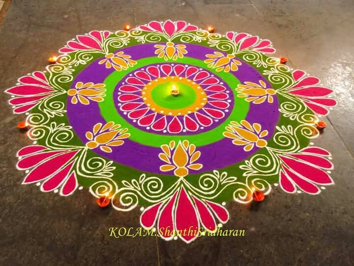 Best 194 malmas mandalas images on pinterest other for Aarti thali decoration with grains