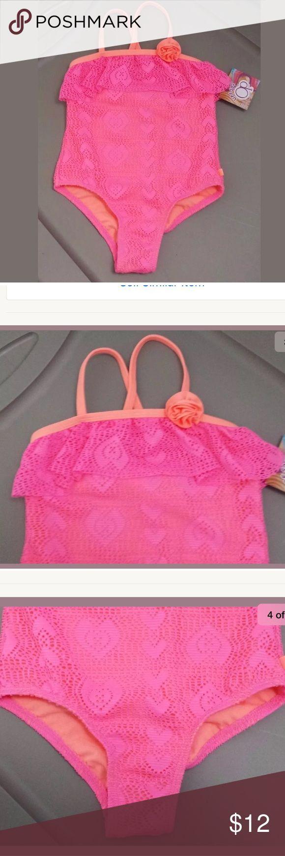 OP baby girls swimsuit size 3T pink NEW UPF 50+ OP baby girls swimsuit size 3T pink NEW UPF 50+                        Smoke and pets free home OP Swim One Piece