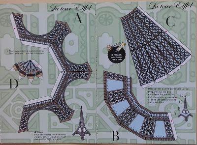 Activité pas-à-pas, escuelasplurilinguesfrances.blogspot.com.ar, Etiqueta: La Tour Eiffel