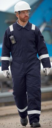 18D0900Dapro® Blizzard Coverall Navy