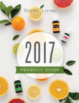 2017 Product Guide v.1  The Product Guide is an A-to-Z reference for all Young Living products. With prices, informative features, how-to-use tips, and detailed descriptions, the Product Guide makes it easy for you to learn about and share Young Living's products.