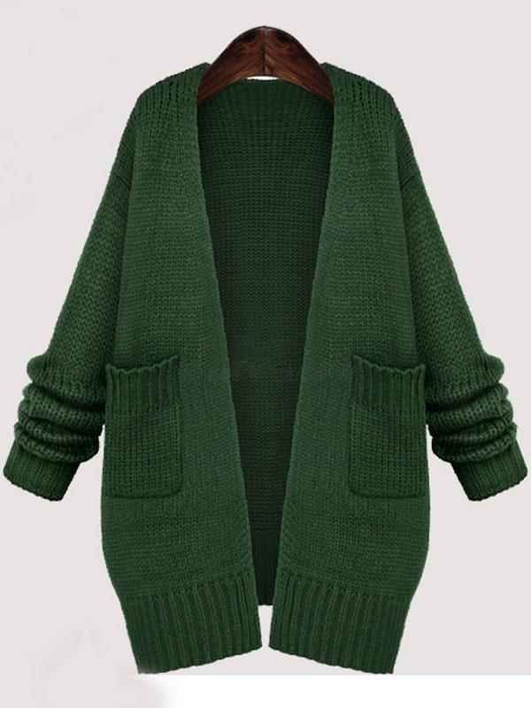 Doresuwe.com SUPPLIES 2015秋冬レディース ファッションVネック着痩せ大きいサイズカーディガン セーター トップス