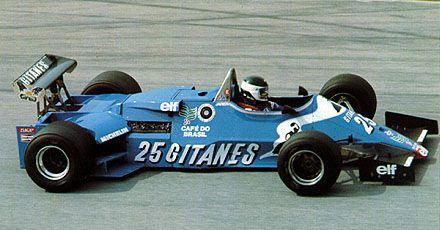 1983 Jean Pierre Jarrier, Ligier JS21