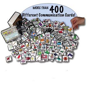 Communication Picture Symbol 400+ Card Set