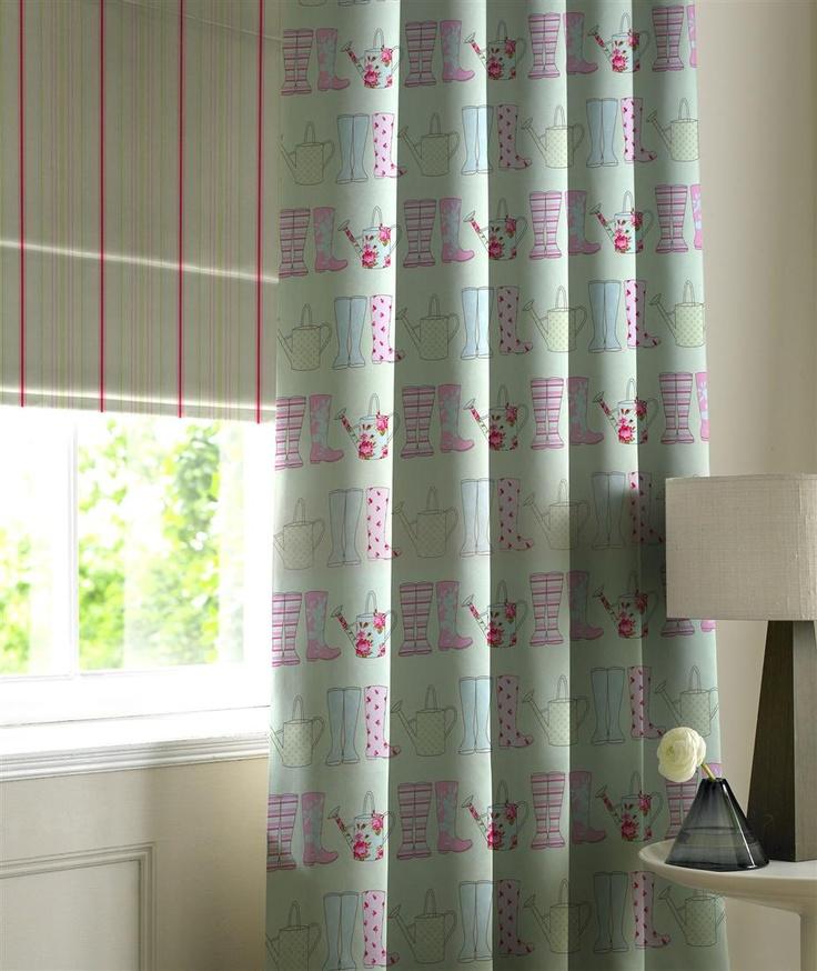 Cottage Garden Style Curtains Pinterest