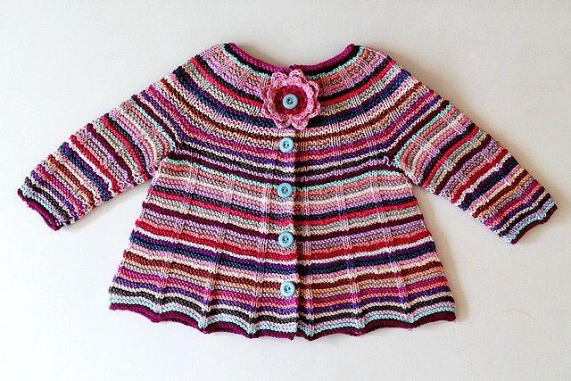GREITZAN: Babykofta av restgarner