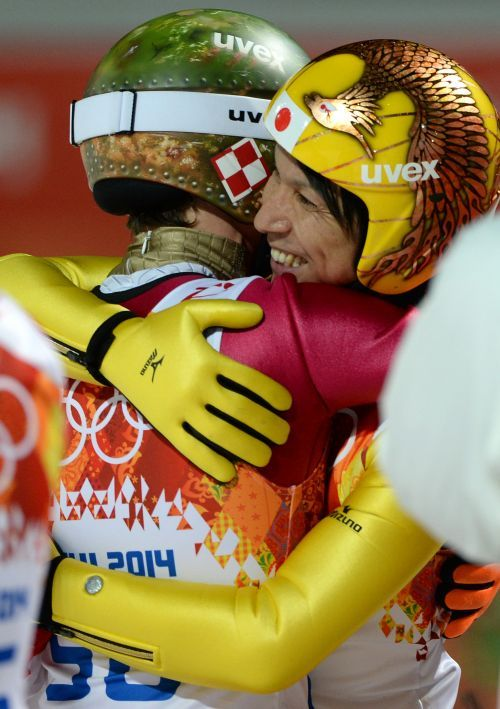 Noriaki Kasai conquers a second place in Sochi, at the age of 41. A legend of ski jumping.