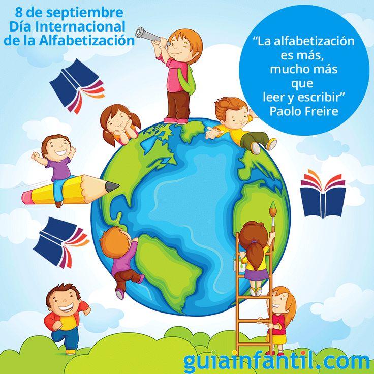 Celebramos el Día Internacional de la Alfabetización pero, ¿basta con saber leer y escribir? http://www.guiainfantil.com/blog/celebraciones/dia-internacional-de-la-alfabetizacion/