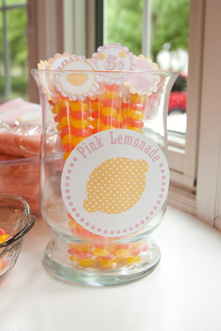 Jelly Belly party favors