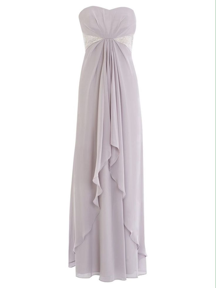 Coast Silver Lilac Size 10 Micheghan Maxi Dress /Wedding / Prom / New With Tags  | eBay