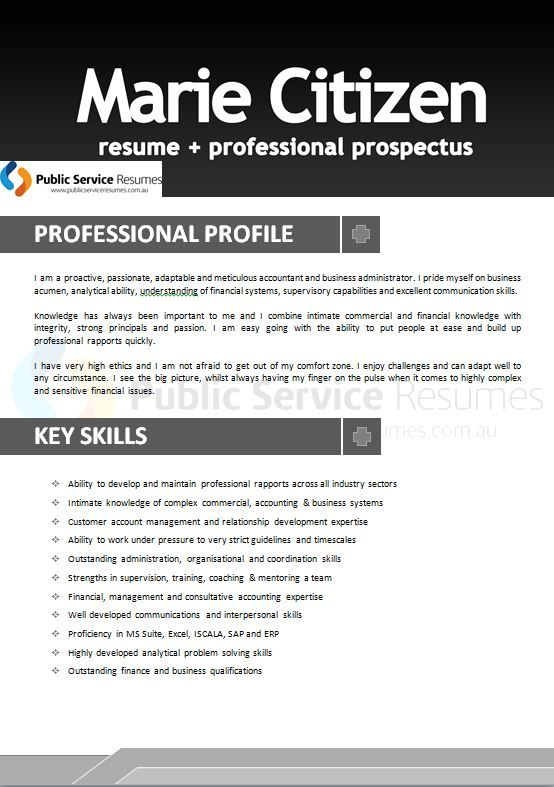 25 best Professional Accounting \ Finance Government Resumes - accounting intern resume