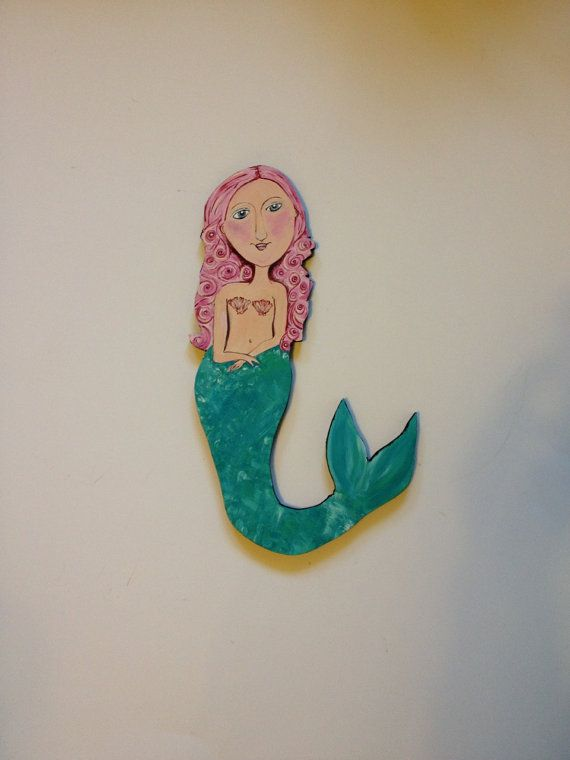 Mermaid Wood Wall Art 29 best mermaids 4ever images on pinterest | mermaid paintings
