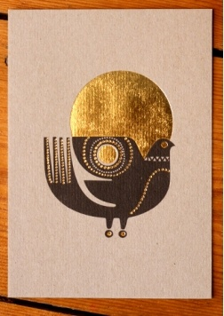 Sanna Annukka - Sunbird card: Love the whole collection this card is a part of