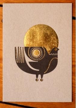 Sanna Annukka - Sunbird card: Love the whole collection this card is a part of
