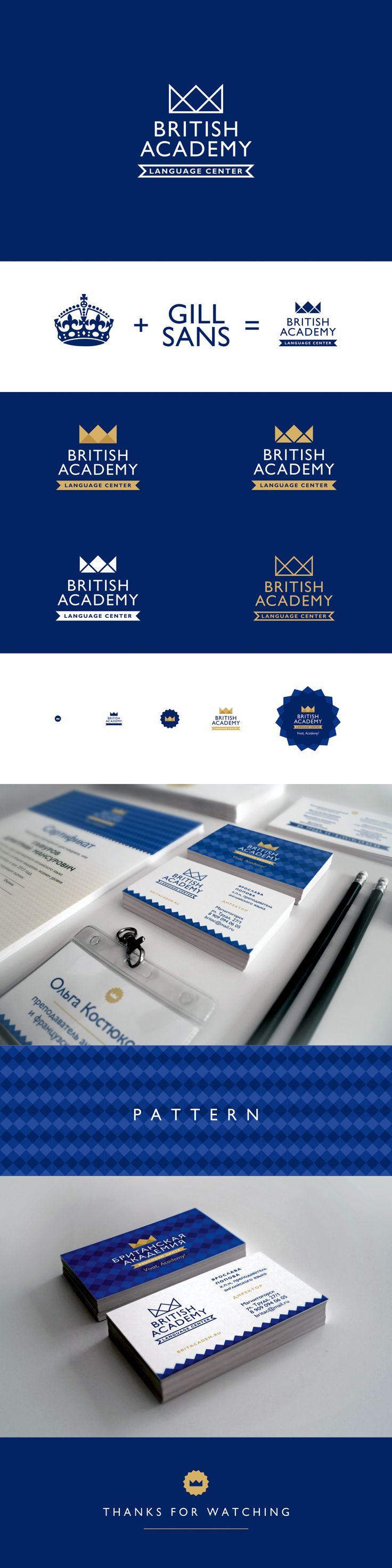 British Academy. Language Center on Behance