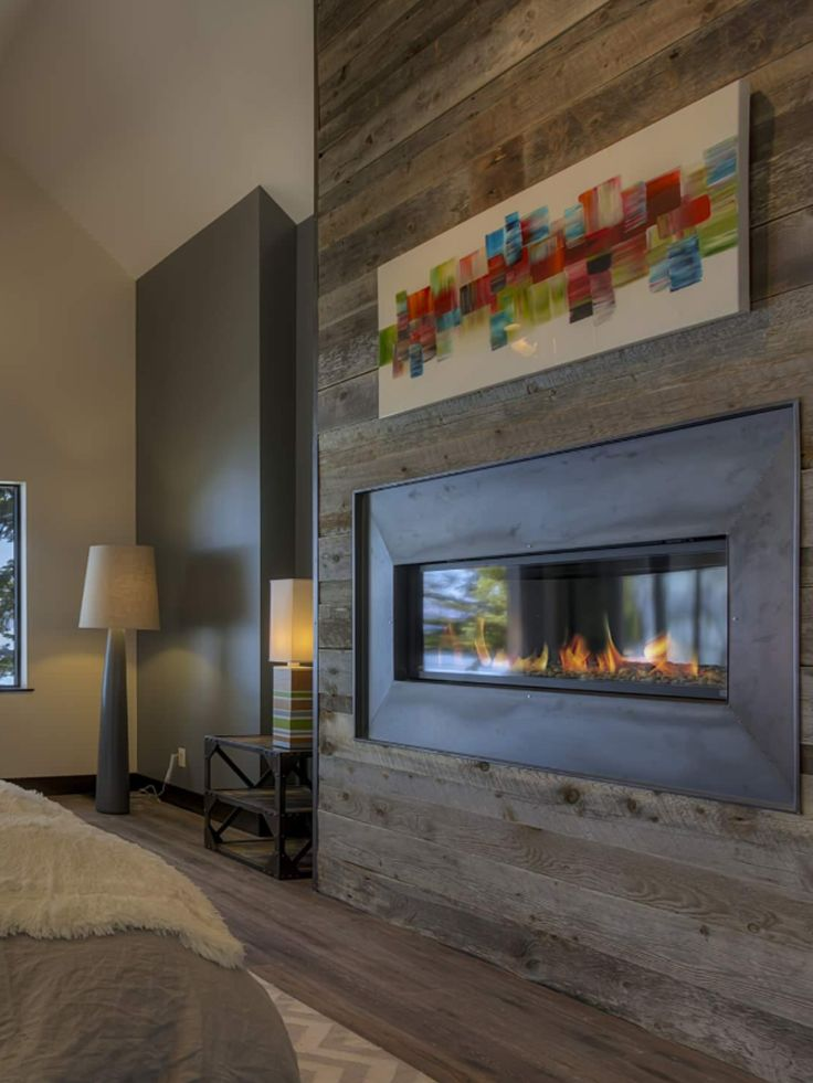 Best 25 reclaimed wood fireplace ideas on pinterest for Bedroom electric fireplace
