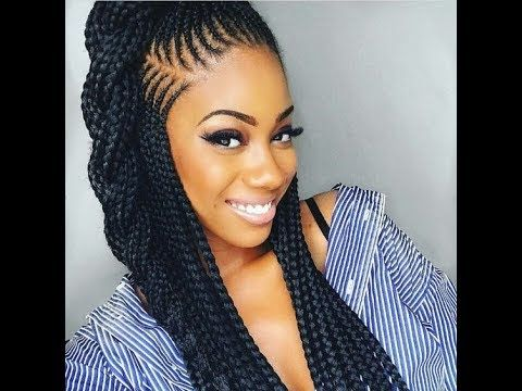 Braiding Hair Styles 9 Best Video Images On Pinterest  Braids Cornrows And Beautiful Ladies