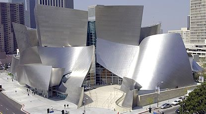Walt Disney Concert Hall, Los Angeles. Frank Gehry.