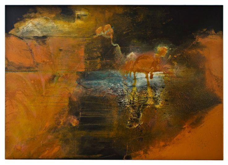 Walter Erra Hubert - within/without #1 - 5' x 7' (213 x 152 cm) - 2012  www.VillicanaDAnnibale.com