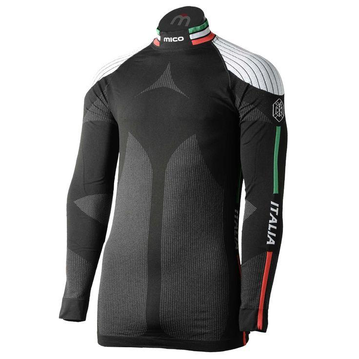 MICO - MAGLIA OFFICIAL ITA - Maglia Manica Lunga - Intimo Tecnico - Montagna - Sport