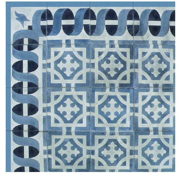 211 best cement tile images on pinterest cement tiles for Encaustic tile dallas