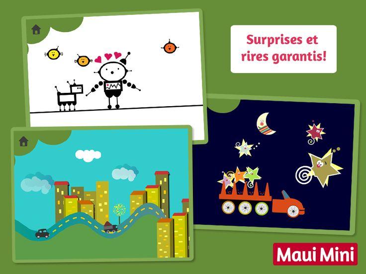 Des meilleurs applis Android pour les bébés et enfants - Maui Mini Jeux Éducatifs.